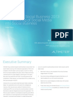 [Report] The State of Social Business 2013