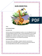 Trabajo de Tics, Guia Didactica