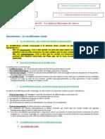Fiche 112 - Les Analyses Théoriques Des Classes 2014-2015