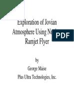 Nuclear Ramjet Flyer