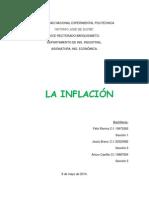 La Inflación. Ing. Económica
