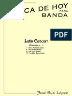 Latinconcert(Op80) Fullscore Banda