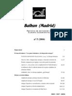 Balkan (Madrid) 5 (2004)