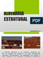 Aula 03 - Alvenaria Estrutural