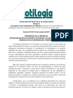 Ley de Las Dependencias Federales 2011.