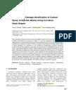 Damage Identification- Curvature Mode Shape