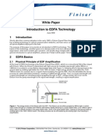 Introduction to EDFA Technology