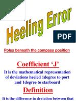 Magnetic Compass Error