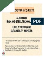 04Alternate IronSteelTechnologies MN Dastur