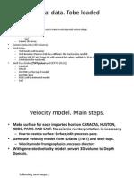 Petrel Workflow 1