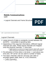 GSM -Logical Channels and Frames
