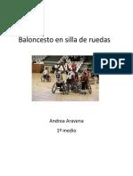Basketball en Silla de Ruedas
