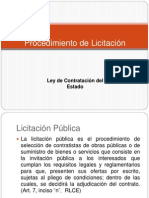 Proceso de Licitacion