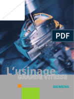 Brochure Usinage Grande Vitesse