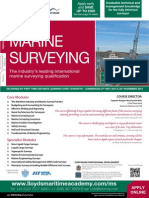 Diploma in Marine Survey