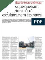 Architect Souto Moura interview
