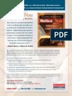 NoticeNote Flyer