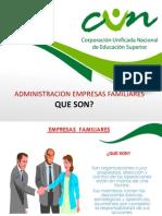 administracion de empresas familiares que son