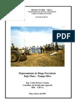 Mejoramiento de Riego Parcel a Rio Bajo Piura - Pampa Silva
