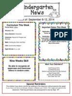 Newsletter September 8-12[5]