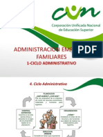 administracion de empresas familiares ciclo administrativo