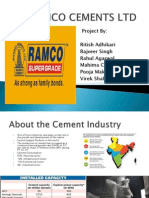 Ramco Cements Final Ppt