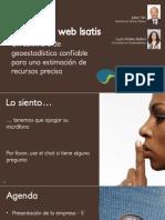 SeminarioWeb Isatis 15-04-2014