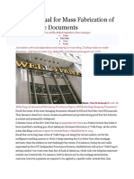 Has a Manual for Mass Fabrication of Foreclosure Documents