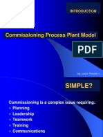 Commissioning Process Plant Model