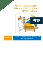Alivio Del Dolor y Cuidados Paliativos en Ninos y Ninas