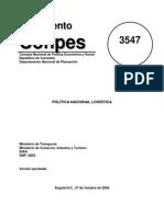 Conpes3547 Política Nacional Logística.pdf