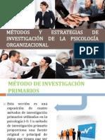 Métodos y Estrategias de Investigación de La Psicología