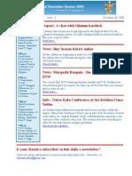 Newsletter Dec 8