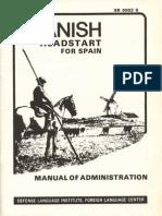 Spanish Headstart for Spain Administration