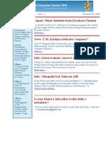 Newsletter Dec 9