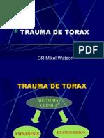 Trauma de Torax.