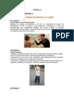 Actividades de Niños de 2 a 3 Años