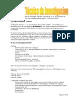 Presentacion de Reportes Cientificos y Tecnicos