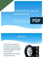 Proceso Industrial de Los Neumáticos