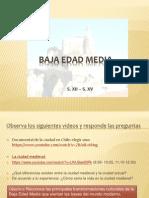 5 La Ciudad Medieval y Universidad Medieval 8 Basico