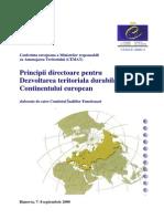 Principii directoare pentru dezvoltarea durabila a teritoriului
