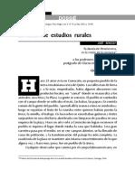 José Bengoa, 25 Años de Estudios Rurales