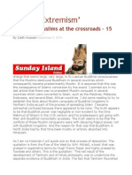 'Muslim Extremism' Sri Lankan Muslims at the Crossroads – 15