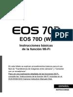 EOS 70D Wi-Fi Basic Instruction Manual ES