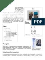 Relé - Wikipedia, La Enciclopedia Libre