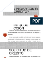 2. COMO INICIAR CON EL CRÉDITO.pptx