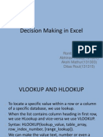 MIS Presentation Excel PPT