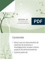 SESION 10