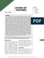 Classification of Epileptic Seizures