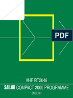2 RT2048 Sailor Vhf User Manual